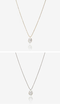 Hei ネックレス・ペンダント 【Hei】natural freshwater pearls necklace〜パールネックレス(11)
