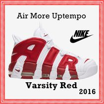 NIKE Air More Uptempo 'White Red'  Varsity Red SS 16 2016