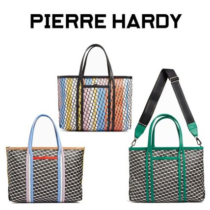 Pierre Hardy マザーズバッグ 【国内発送】ギフトにも★PIERRE HARDY★2WAY ポリキューブトートバッグ