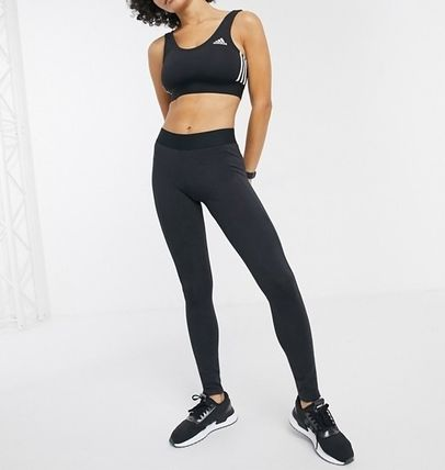 adidas ボトムスその他 ◆adidas◆leggings with side logo in black 送料込み(4)