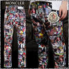 MONCLER パンツ 【19AW NEW】MONCLER / PALM ANGELS コラージュパンツ /