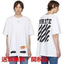 OFF-WHITE★SSENSE Exclusive Spray Paint T-Shirt