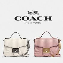 【COACH】CASSIDY TOP HANDLE CROSSBODY 上品レザー F80823