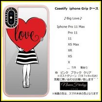 Casetify iphone Gripケース♪Big Love♪