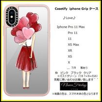 Casetify iphone Gripケース♪Love♪