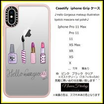 Casetify iphone Gripケース♪Hello Gorgeous makeup ...♪