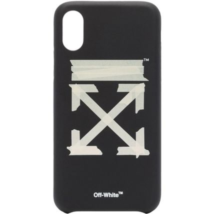 Off-White スマホケース・テックアクセサリー ★安心の国内発送★人気商品★Off-white Tape Arrows iPhone XS(2)