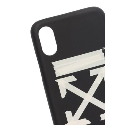 Off-White スマホケース・テックアクセサリー ★安心の国内発送★人気商品★Off-white Tape Arrows iPhone XS(4)