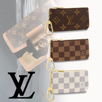 Louis Vuitton ルイヴィトン★ポシェット・クレ キーケース 国内
