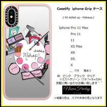 Casetify iphone Gripケース♪All dolled up - Makeup♪
