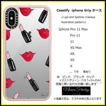 Casetify iphone Gripケース♪Lips and lipsticks makeup ...♪