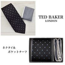 ☆TED BAKER☆ ネクタイ&ポケットチーフセット