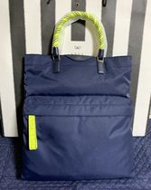関税送料込☆Anya Hindmarch Nylon Tote with Bungee Handles