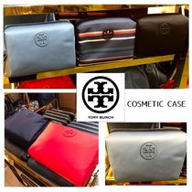 Tory Burch☆COSMETIC CASE ナイロン 化粧ポーチ/送・税込
