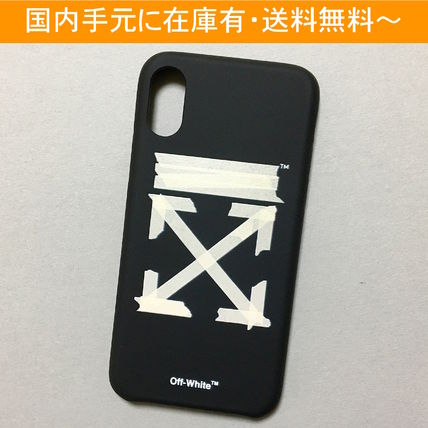Off-White スマホケース・テックアクセサリー OFF-WHITE TAPE ARROWS iPhone case