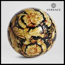UK発!【VERSACE HOME COLLECTION】バロッコ柄 サッカーボール