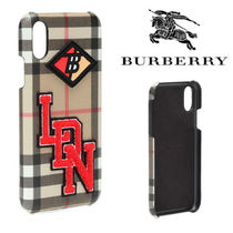 Burberry プリントiPhone Xケース 関税込み