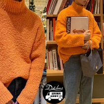 ASCLO Sik Ringo Neck Knit (3color) TY79 追跡付