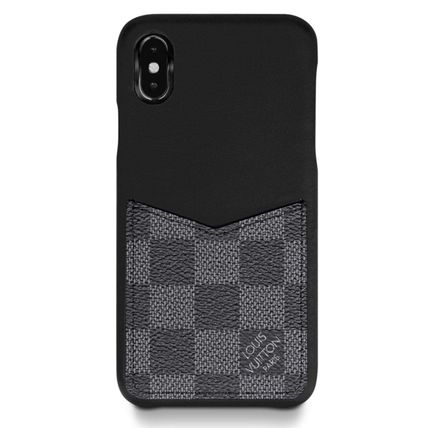 Louis Vuitton スマホケース・テックアクセサリー 国内発◆LOUIS VUITTON◆IPHONE XS ケース ダミエ・グラフィット(2)