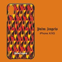 [Palm Angels] PALM ANGELS バーニング iPhone X/XS ケース