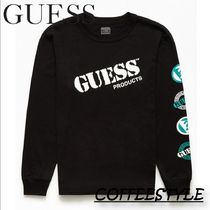 GUESS Guess Products Logo長袖Tシャツ