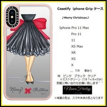 Casetify iphone Gripケース♪Merry Christmas♪
