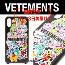 国内発 SS20 VETEMENTS MONSTERS STICKERS IPHONE CASE X/XS