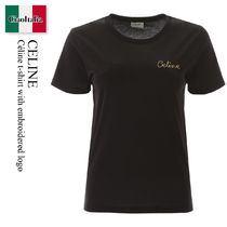 Celine t-shirt with embroidered logo