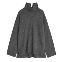"""""""ARKET"""" Recycled Cashmere Blend Jumper Gray"""
