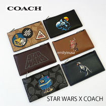 激レア STAR WARS X COACH ZIP CARD CASE 完売品