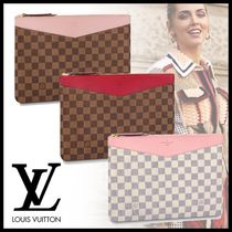 Louis Vuitton デイリーポーチ クラッチバッグ ダミエ