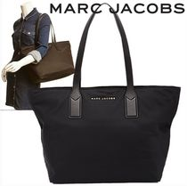 SALE! MARC JACOBS ロゴ ナイロン トート マザーズバッグ♪