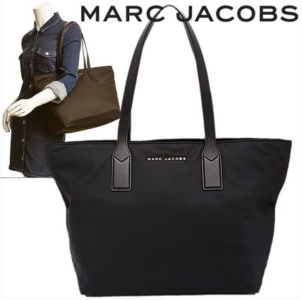 MARC JACOBS マザーズバッグ SALE! MARC JACOBS ロゴ ナイロン トート マザーズバッグ♪