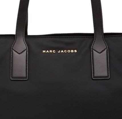 MARC JACOBS マザーズバッグ SALE! MARC JACOBS ロゴ ナイロン トート マザーズバッグ♪(6)