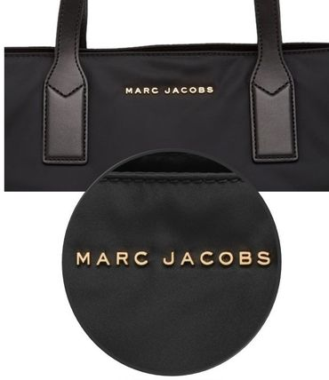 MARC JACOBS マザーズバッグ SALE! MARC JACOBS ロゴ ナイロン トート マザーズバッグ♪(8)