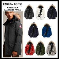 【CANADA GOOSE】☆細身スタイル☆ LANGFORD PARKA FUSION FIT