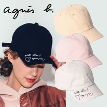 To b. by agnes b. メッセージ キャップ 帽子 WO84