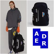 最安値挑戦★Adererror★Agent tech backpack BLACK