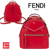FENDI BACKPACK フェンディバックパック 8BZ038 A5F3 F0MVV Red