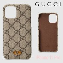 OPHIDIA★GG Supreme【送込 GUCCI】iphone 11 Pro★GGデコロゴ