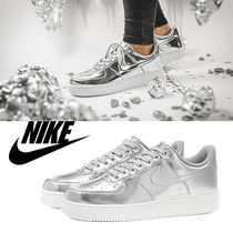 ナイキ Nike Air Force 1 SP W / Metalic Silver / 送料込