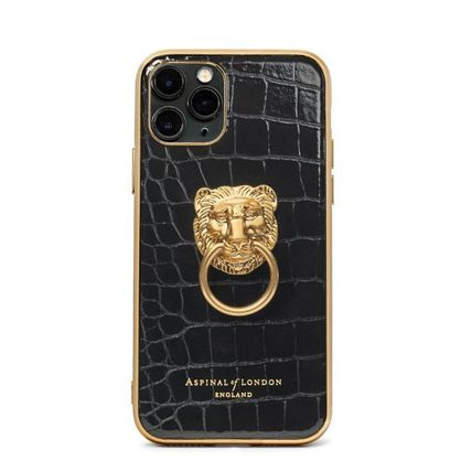 Aspinal of London スマホケース・テックアクセサリー 【Aspinal of London】Lion iPhone 11 Pro Case(2)