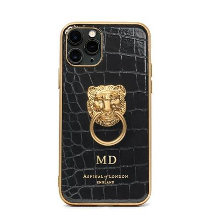 Aspinal of London スマホケース・テックアクセサリー 【Aspinal of London】Lion iPhone 11 Pro Case(4)