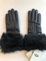Sale!UGG TOSCANA Cuff Leather Gloves /タッチスクリーンOK/BK