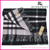 Burberry★素敵!Reversible Extra Large Check Duffle Scarf