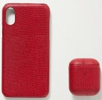 ★THE CASE FACTORY★LIZARD IPHONE X AND AIRPODS CASE SET