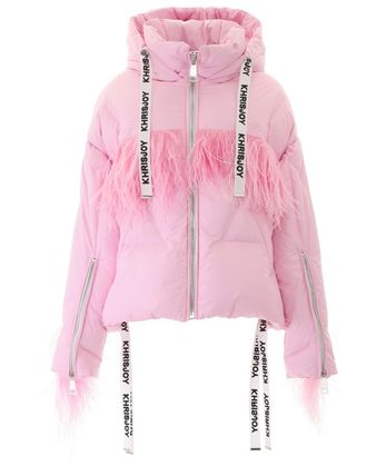 【KHRISJOY】Khris Puffer Jacket With Feathers