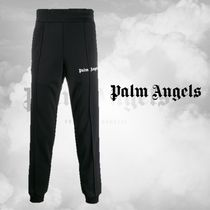 【PALM ANGELS】LOGO SPORTY TROUSERS