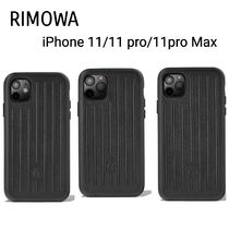 【RIMOWA】Leather Black Case 11/11pro/11proMax用ケース