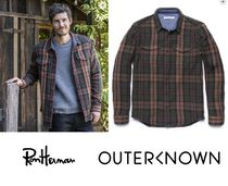 outerknown/ Blanket シャツ!!RH取り扱い!!厚手のネルシャツno,9